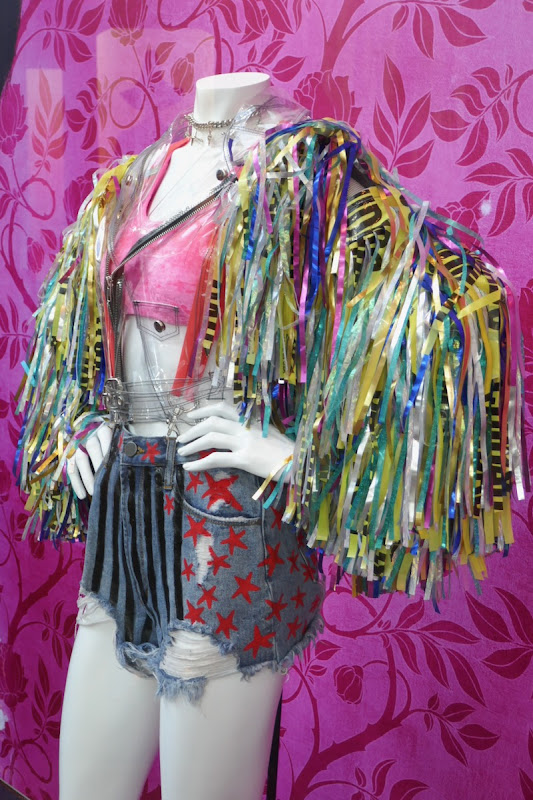 Harley Quinn caution tape jacket Birds of Prey