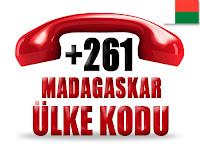 +261 Madagaskar ülke telefon kodu