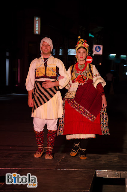 Macedonian national costumes - Ethnic area Ovce Pole