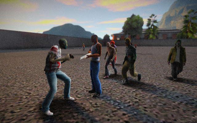 GTA San Andreas The Zombie Death Match 2021 Mod