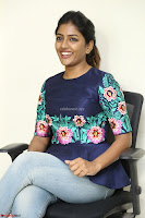 Eesha Looks super cute stunning in Denim Jeans and Top at Darsakudu movie Inerview ~  Exclusive 028.JPG