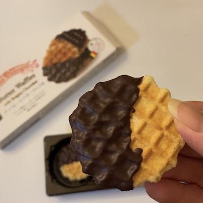 業務スーパー,チョコレートバターワッフル