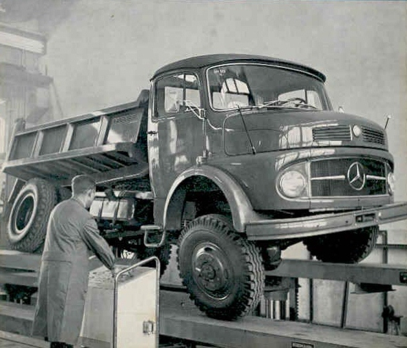 Cami 243 N Argentino Mercedes Benz La 1114 Las 1114