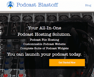 Podcast Blastoff