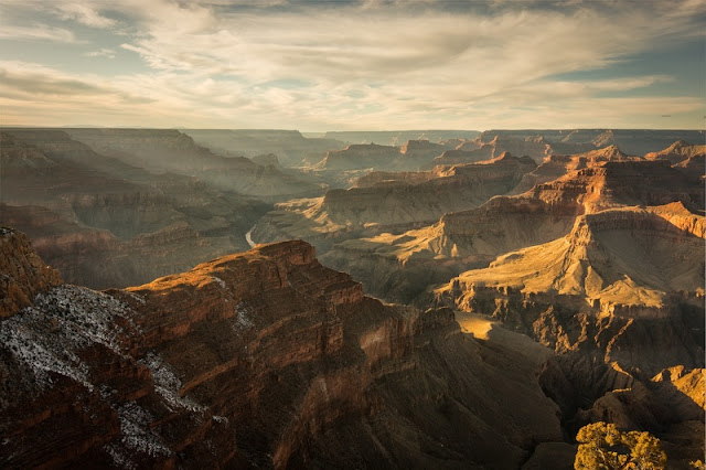 A view of the Grand Canyon National Park Arizona