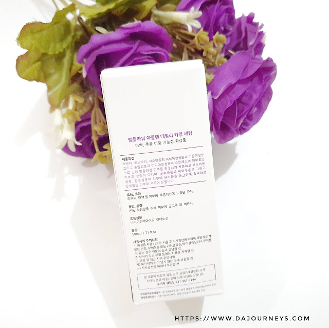 [Review] Bellflower Azulene Daily Calming Serum