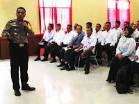40 Pejabat Eselon III Pemkab Pangkep Belajar Wilayah Bebas Korupsi di Polres Gowa