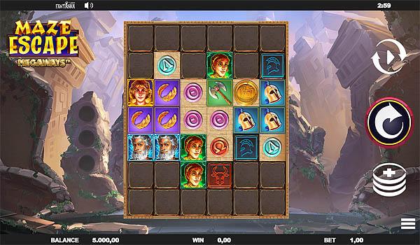 Main Gratis Slot Indonesia - Maze Escape Megaways Relax Gaming