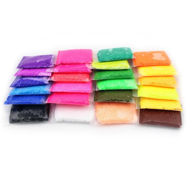 袋袋彩色波波粒黏土