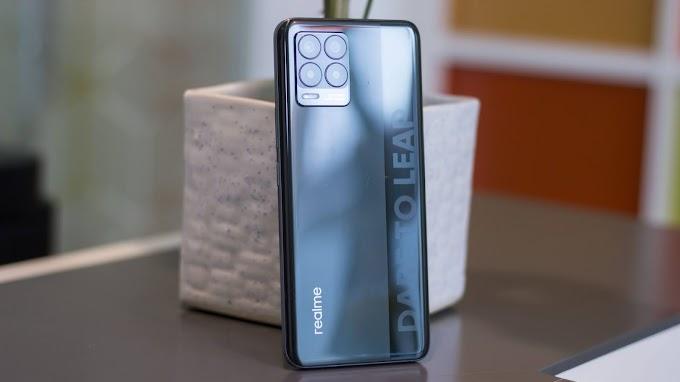 Sorteio do smartphone Realme 8