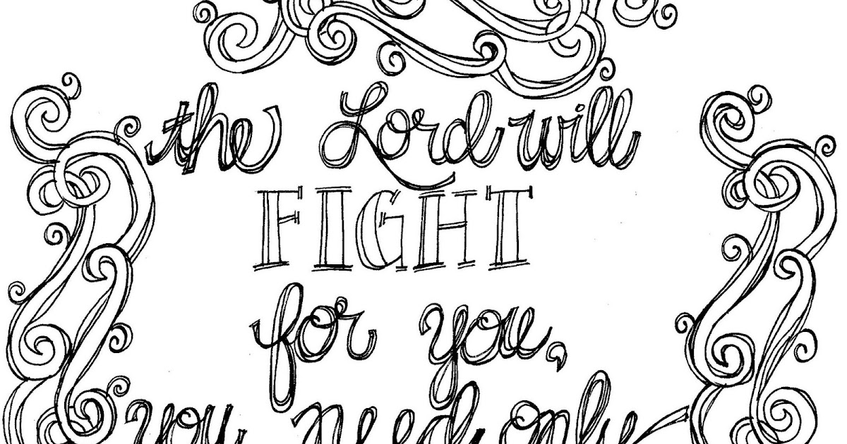 Look To Him And Be Radiant Scripture Coloring Page Be Still