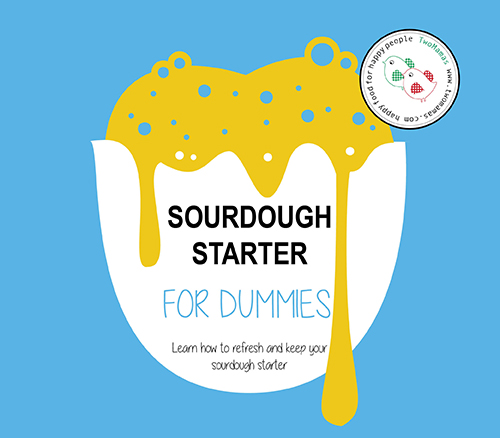 Learn how to refresh and keep your sourdough starter