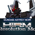 Hi-Resolution Model 1/100 Gundam Astray Noir - Release Info