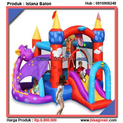 Istana / Rumah Balon Happy Hop Dragon