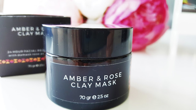 Moshos Garden Amber & Gül Kil Maskesi
