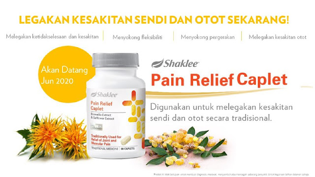 Pain Relief Caplet Shaklee