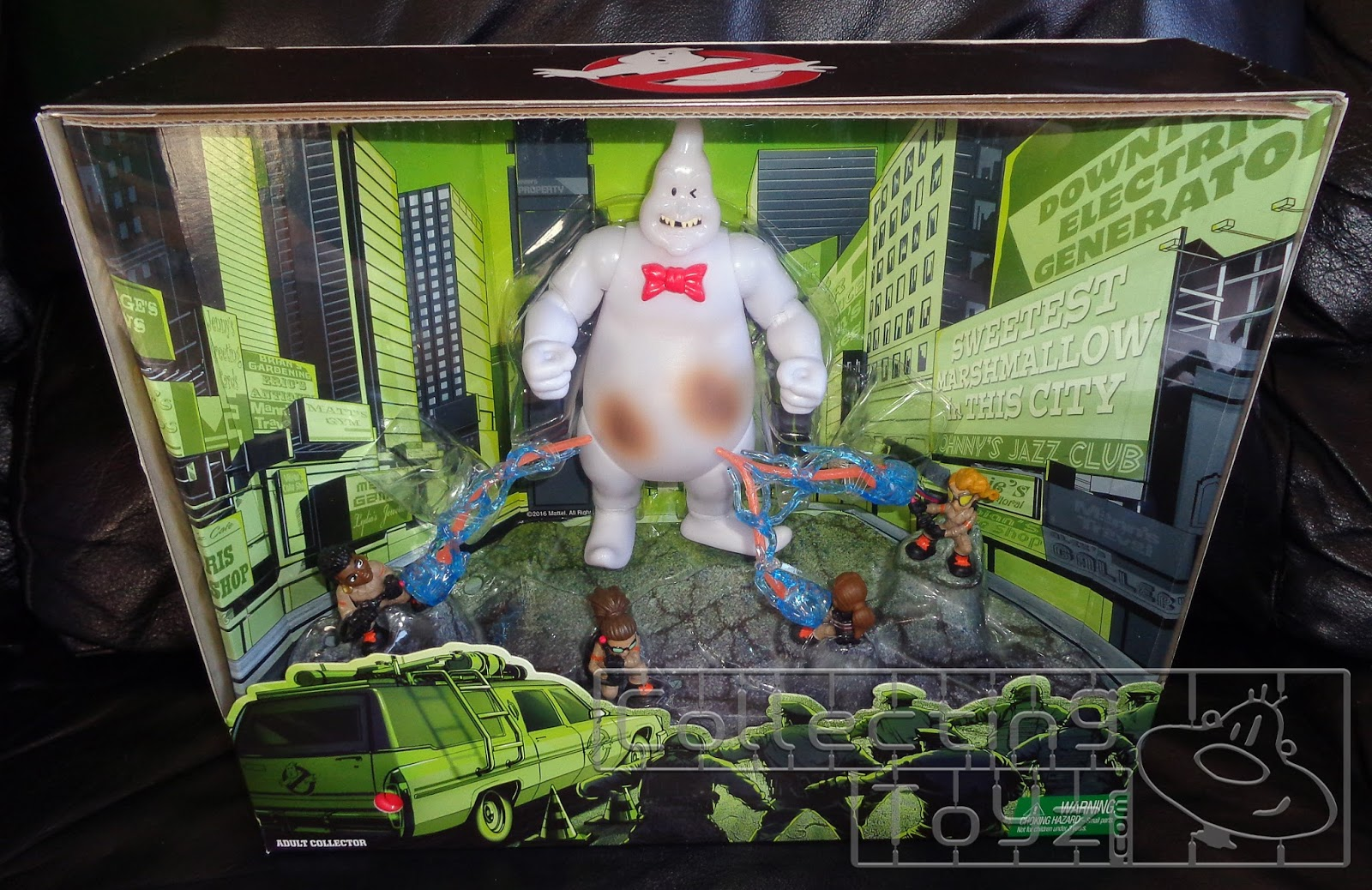Collecting Toyz Sdcc 2016 Exclusive Ghostbusters Box Set Tony Hawk Circuit Boards By Hexbug Power Axle Innovation First This Is The Once You Take It Out Of Outer If Look Closely Can Push Taillight Ecto 1 To Watch Zap Rowan