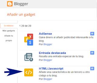 Widget card perfil para Blogger