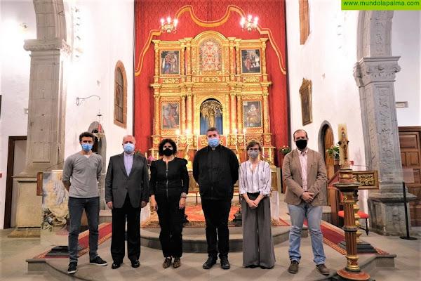 El Cabildo concluye la restauración del retablo mayor de la Iglesia de San Francisco