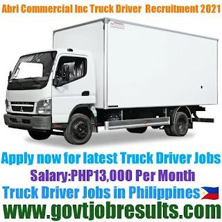 Abri Commercial Inc Truck Driver Recruitment 2021-22