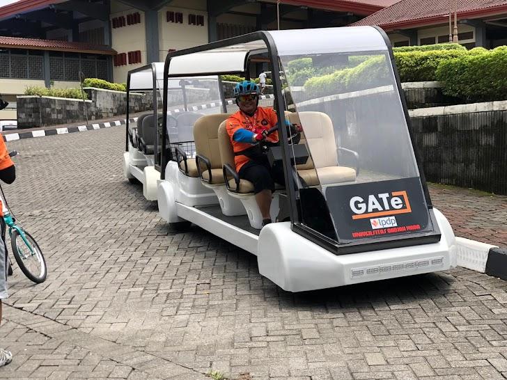 Kenalkan, Konsep Mobil Listrik UGM Untuk Bandara YIA
