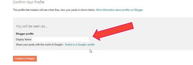 Cofirm your profile