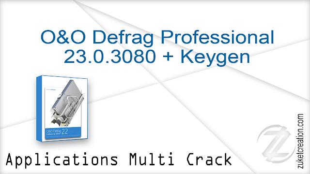 O&O Defrag Professional 23.0.3080 + Keygen