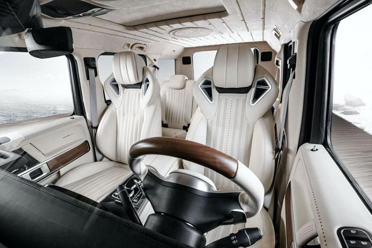 Ngắm 'du thuyền trên cạn' Mercedes-AMG G63 Yachting Edition