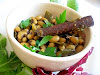 Cinnamon Spiked Black-Eyed Peas Curry