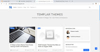 Download Simple Template Blogger Templar for Free