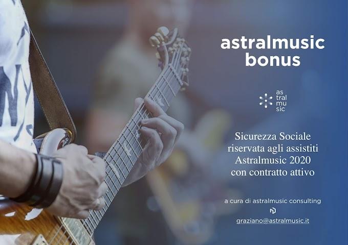 Astralmusic: Graziano e Giordano Tittarelli donano un bonus per i loro assistiti