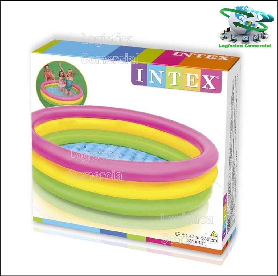 Piscina Inflable Intex Piscinas Inflables Piscina Inflable 3 Aros Colores Niños Intex