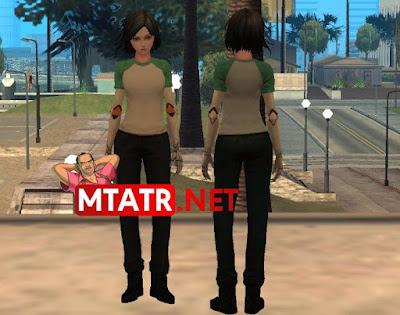 MTA SA Alita skin