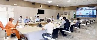मुख्यमंत्री योगी आदित्यनाथ ने कोविड नियंत्रण के प्रयासों को पूरी प्रतिबद्धता से जारी रखे जाने के निर्देश दिए  राज्य सरकार की 'ट्रेस, टेस्ट एण्ड ट्रीट' नीति संक्रमण को नियंत्रित करने में अत्यन्त उपयोगी सिद्ध हो रही: मुख्यमंत्री योगी आदित्यनाथ  प्रदेश में कोरोना संक्रमण की रिकवरी दर लगातार बढ़ रही, वर्तमान में यह दर 96.1 प्रतिशत