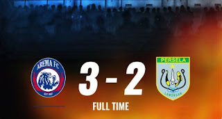 Arema vs Persela 3-2 Highlights