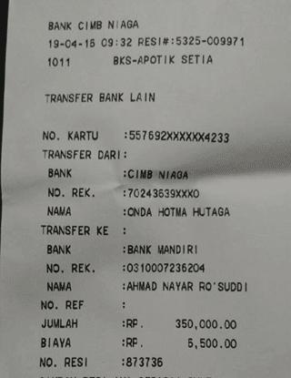 transaksi pembayaran