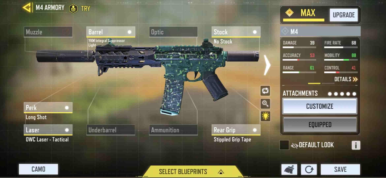 M4 best  gunsmith  for aggressive gameplay