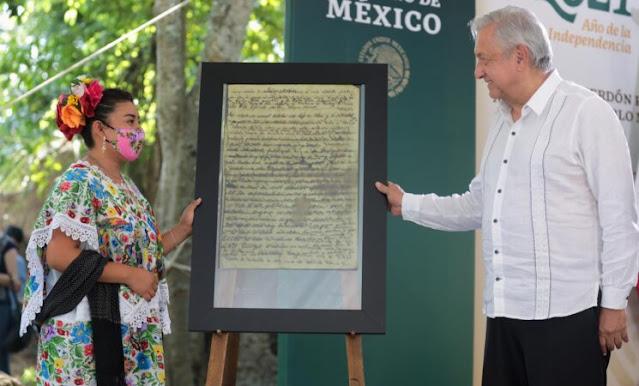 Gobierno de la Cuarta Transformación ofrece disculpas al pueblo maya en Quintana Roo