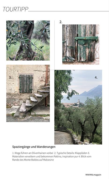 Wanderung von Malcesine am Monte Fubiavon Malcesines aus.