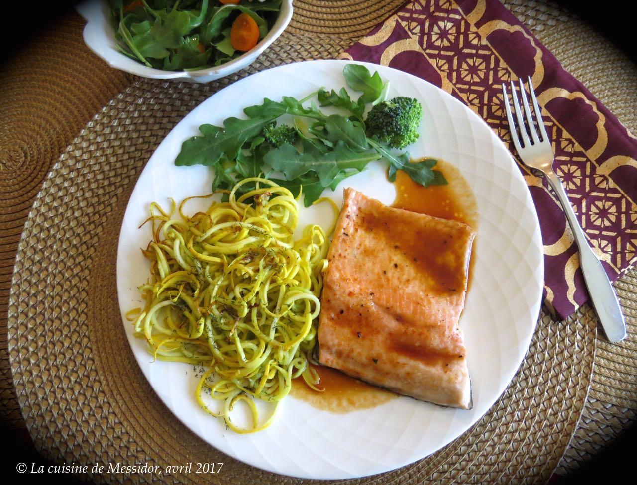 La cuisine de messidor filet de truite au four sauce aux pruneaux - Comment cuisiner la truite au four ...