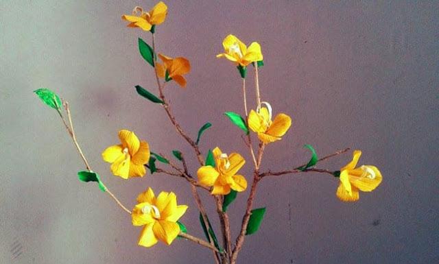 2 Cara Mudah Membuat Bunga dari Kulit Jagung