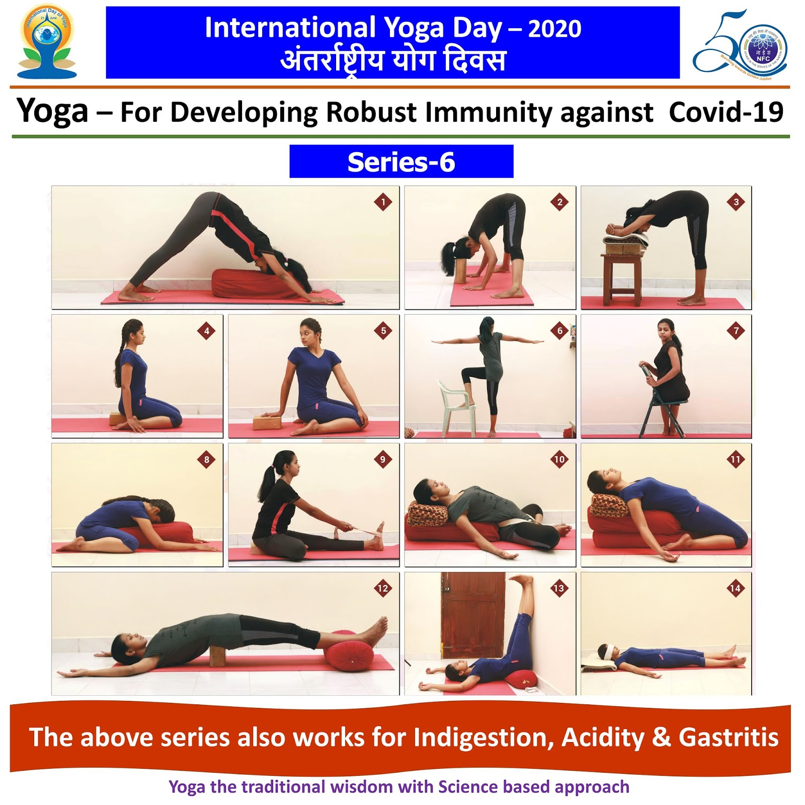 Happy International Yoga Day ... This series also works for Indigestion, Acidity & Gastritis