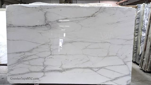 Calacatta Lincoln Marble Slab Polished 2cm NYC