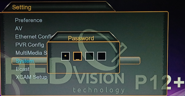 Download RedVision P12 Plus HD Receiver New Software 2021