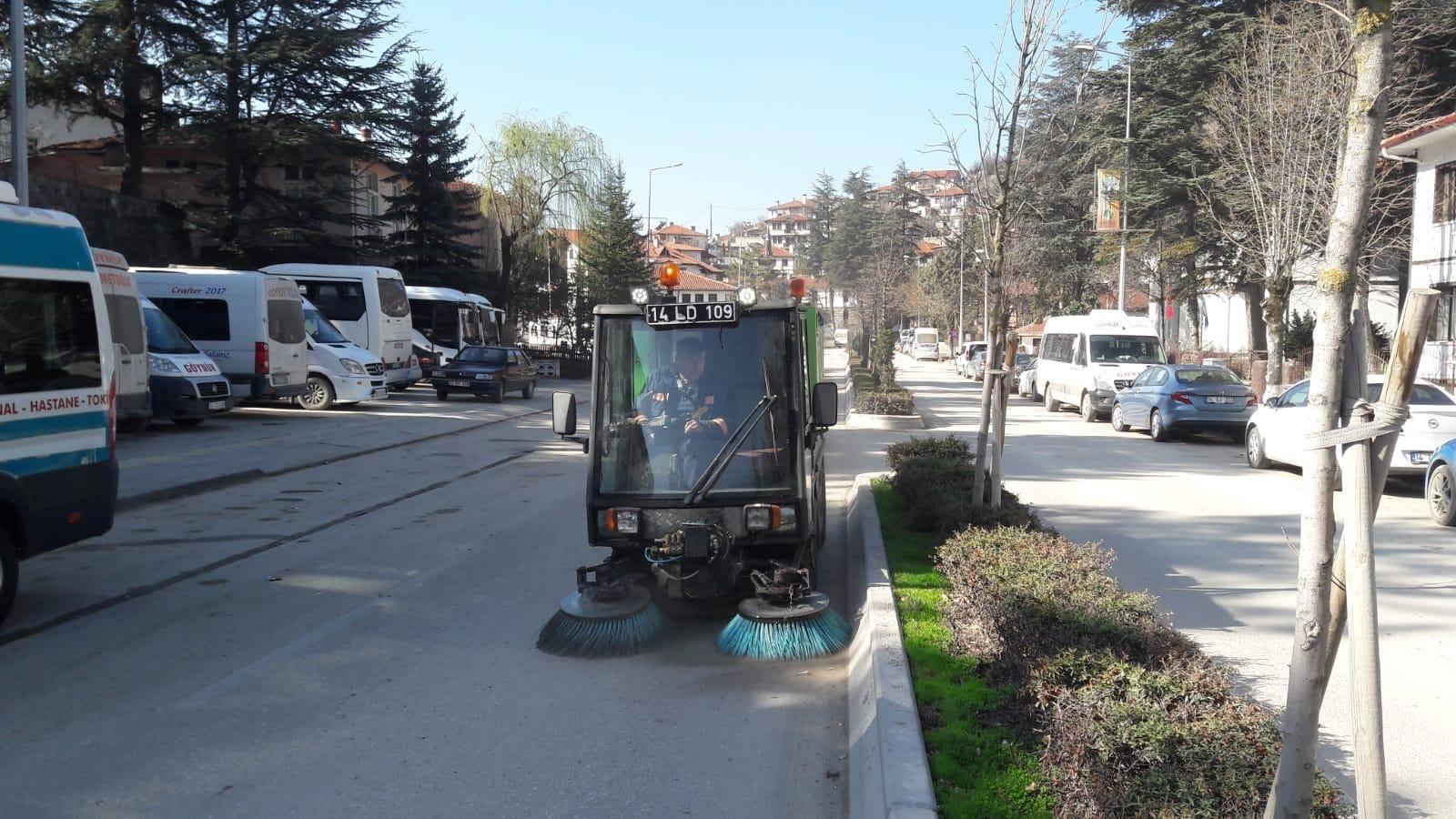 Göynük Belediye Bahar Temizliği