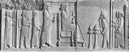 Art 236 Darius And Xerxes Receiving Tribute