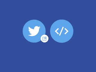 Cara Embed Status Twitter di Postingan Blog