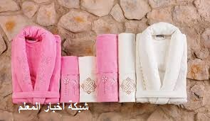 بالصور احدث روب حمام بافضل سعر البرنس القطن فى مصر - طقم برنص التركي العروسة قطونيل