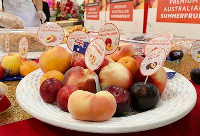 AUSTRALIAN SUMMER FRUITS – KINI SEGAR TERUS DARI LADANG KE PASARAYA DI MALAYSIA