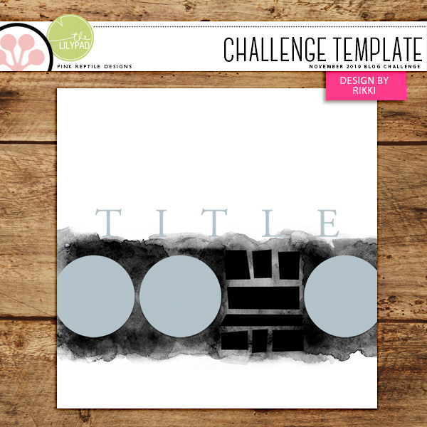 Pink Reptile Designs Blog Challenge Free Template